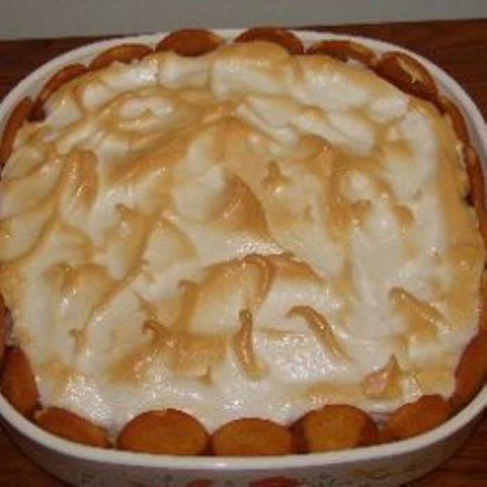 7. Most our mothers or grandmothers have a banana pudding recipe. There are quick fixes with instant pudding and whip cream, but there is no comparison. You just cannot beat homemade vanilla pudding, layered with sliced bananas and vanilla wafers, then topped with meringue.