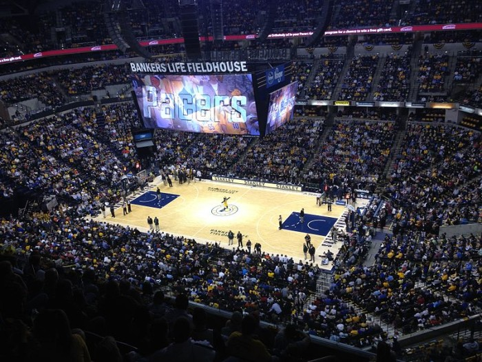 11.) Bankers Life Fieldhouse
