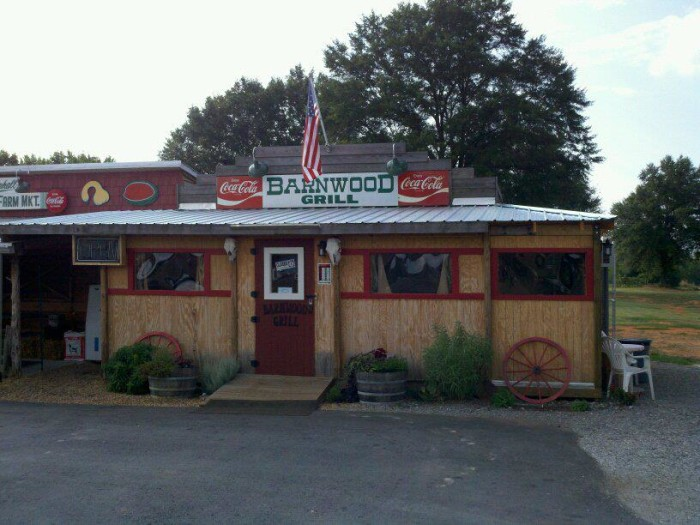 3. Barnwood Grill,  Anderson, SC