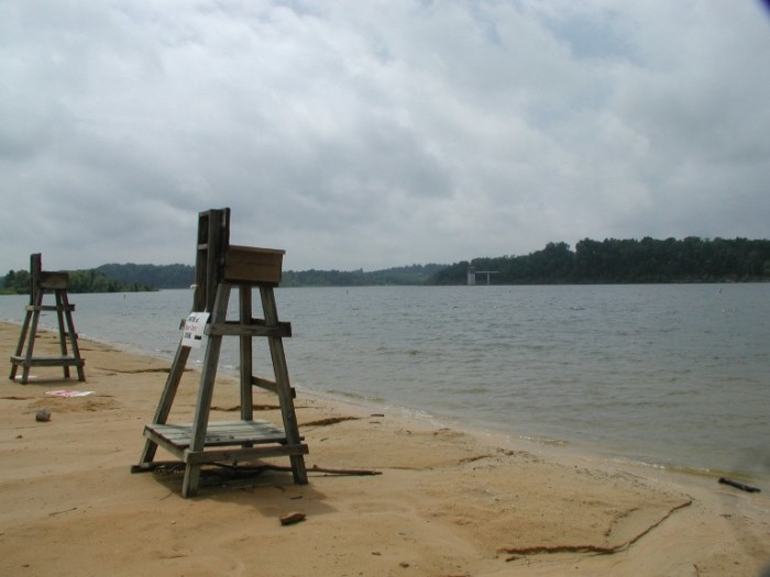 4. Barren River Lake in Southern Kentucky offers lake and pool swimming, cabins, camping, fishing, and family fun.