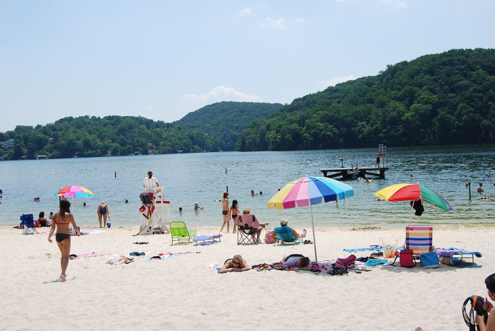 4. Spend a day at the lake