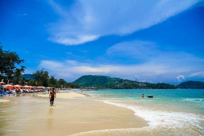 15) A beach. A beach would be nice.