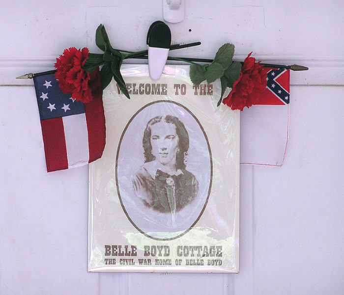 Belle Boyd Sign