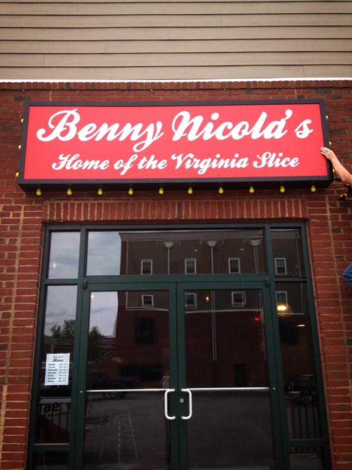 6. Benny Nicola's, Radford