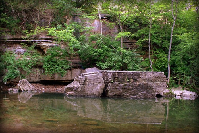 10. Big Rock in Cherokee is a great place to cool off during the hot summer months. There is plenty of wading water for the little ones and deeper spots for adults.
