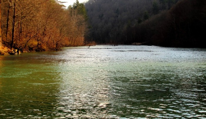 9. Big South Fork River is in the midst of 125,000 acres of the beautiful Cumberland Plateau.