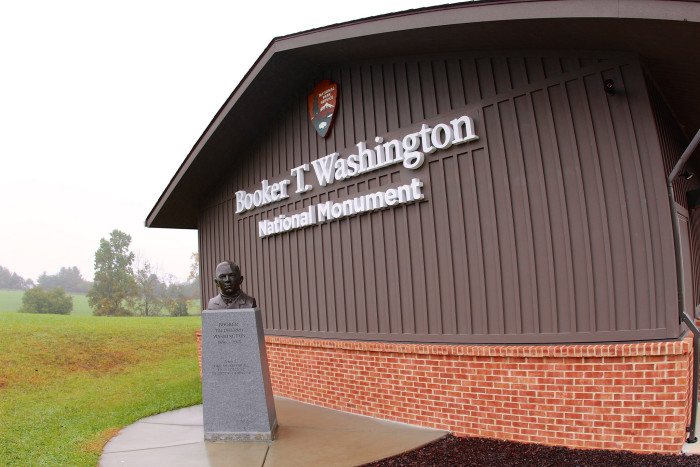 1. Booker T. Washington National Monument, Franklin County