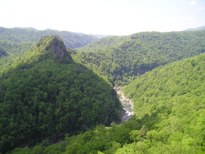 """1.""""The Grand Canyon of the South"""": Breaks Interstate Park, Breaks"""