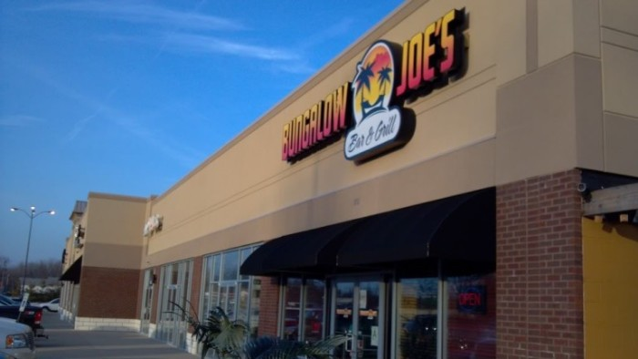 8. Bungalow Joe's offers a variety of amazing burgers, sandwiches, and other delicious dishes, including burgers, fish, chicken, quesadilla, and steak.