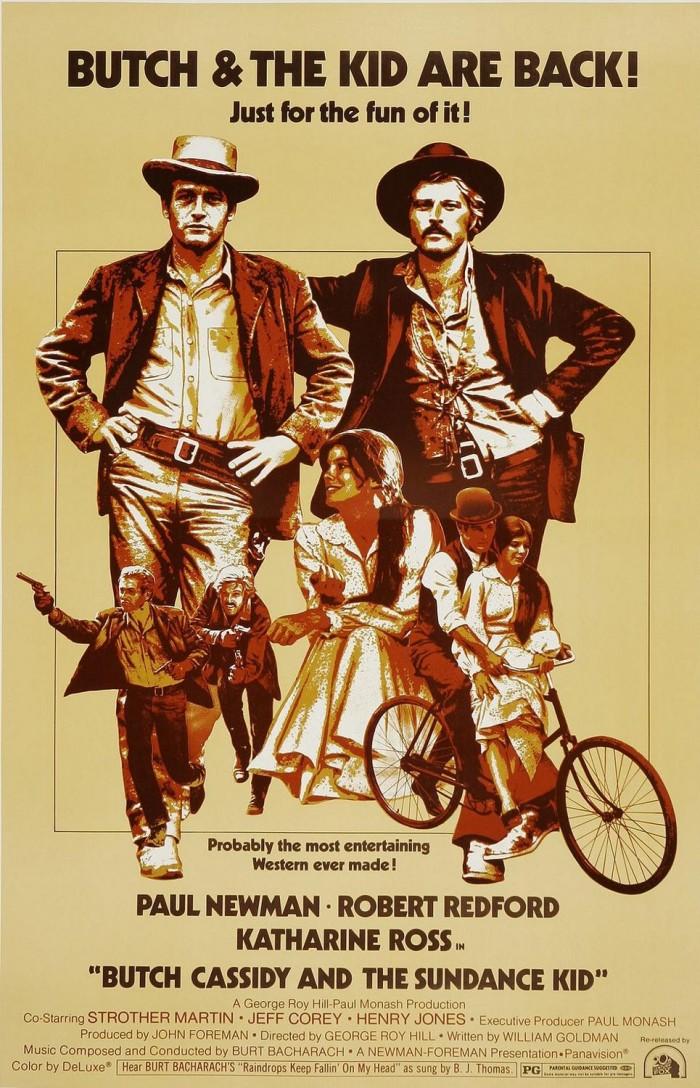 3.) Butch Cassidy and the Sundance Kid (1969)
