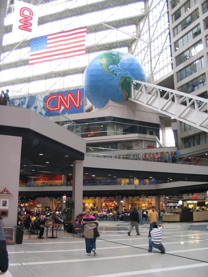 4. World's Longest Freestanding Escalator- Atlanta, GA