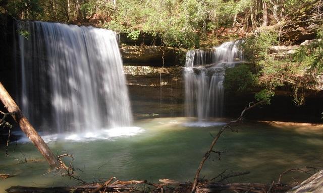 2. Caney Creek Falls