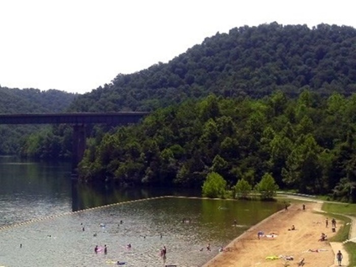 1. Carr Creek State Park in Eastern Kentucky has a marshy ecosystem that's unique to the area. The 700 acre lake has plenty of space for fishing, swimming or just sunning.