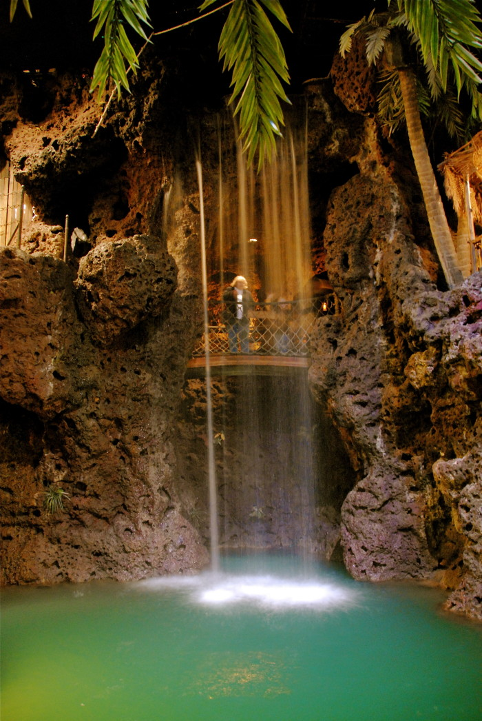 13.) and last but certainly not least: the Waterfall at Casa Bonita