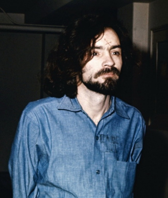 2. Charles Manson is said to have such a powerful personality that he is a danger to society. He never raised a hand during the famous Tate murders, but has been in prison ever since. Born in 1934, he was reared in Ashland Kentucky.
