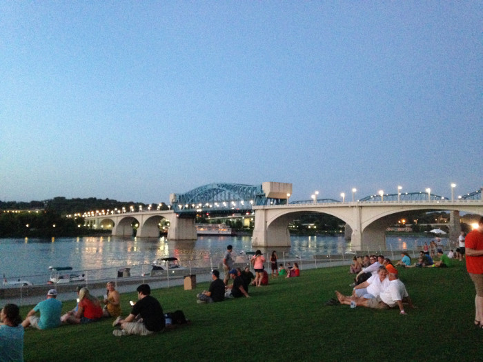 Chattanooga nightfall concert