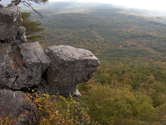 7. Spend the day at Cheaha State Park and climb Alabama's tallest mountain - Mt. Cheaha.