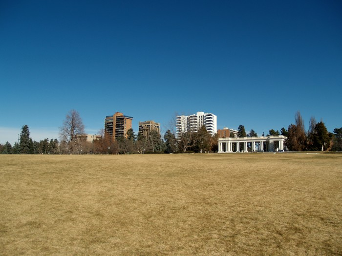 7.) Cheesman Park (Denver)