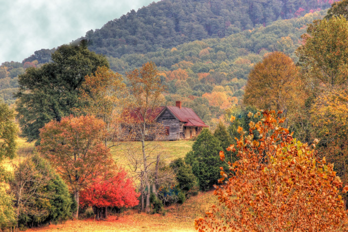 12) And autumn colors you won't believe