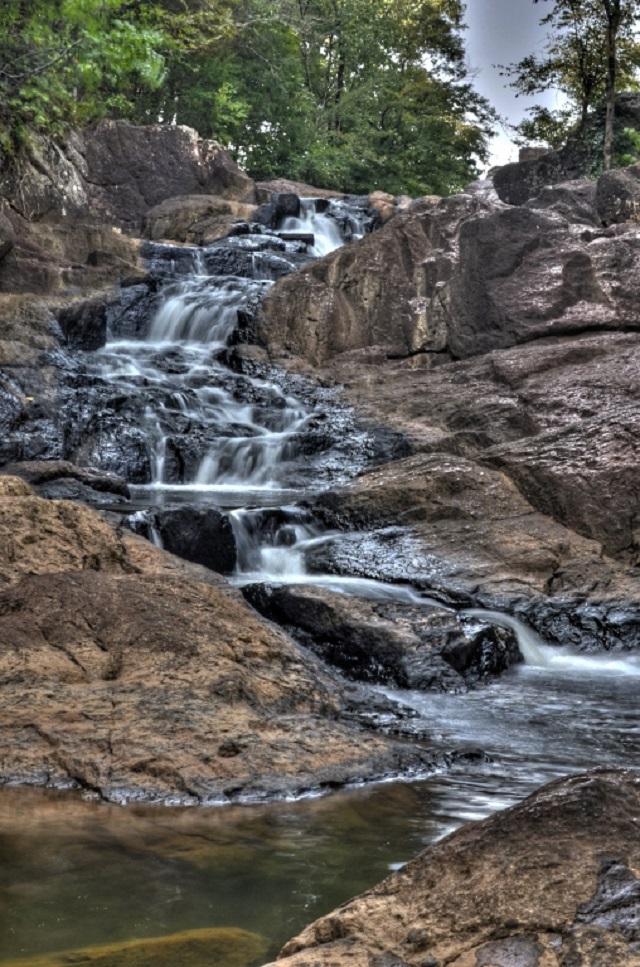 8. Chewacla Falls