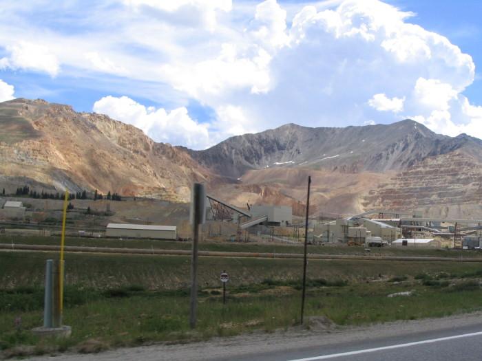 11.) Mine in Climax, Colorado