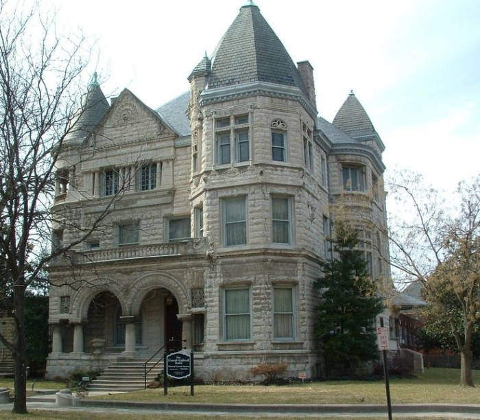 8. The Conrad Caldwell House in Old Louisville offers visitors a view of the Victorian Era at its finest. This castle like version of Victorian architecture has been maintained to befit the original style . Tours start at $10 for adults, $4 for kids.