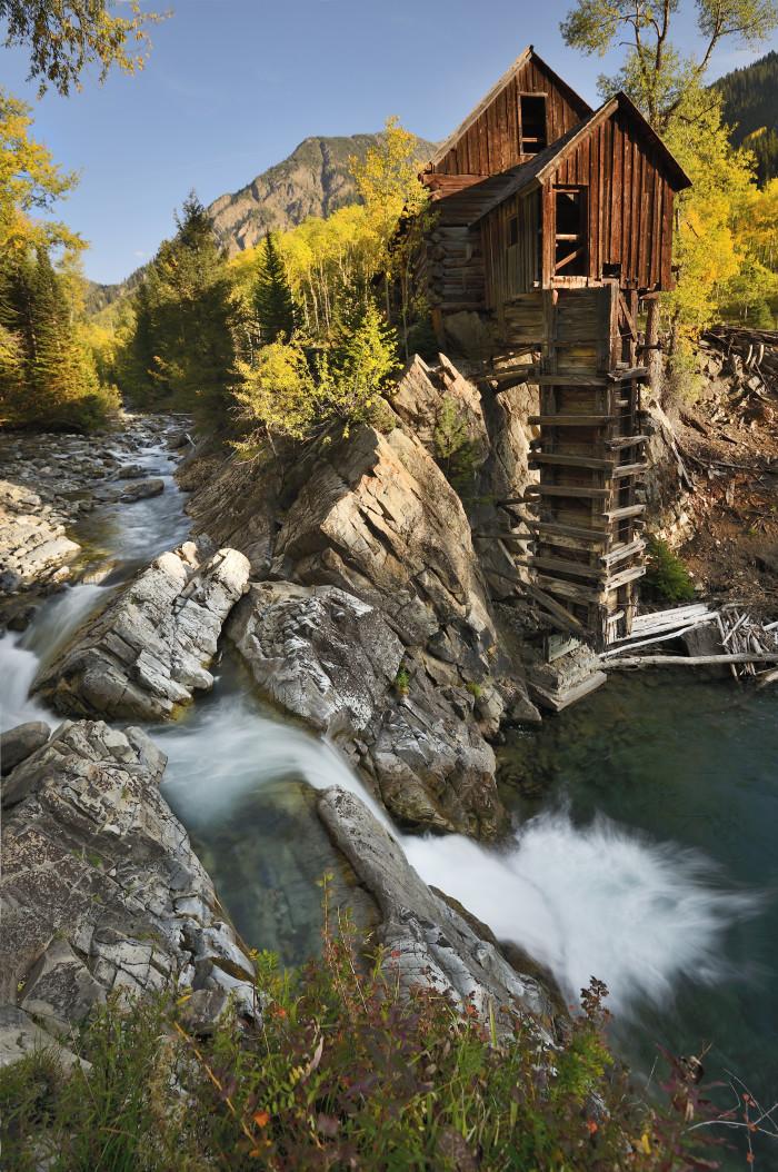 13.) Mill in Crystal Mill, Colorado