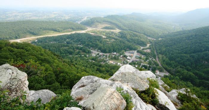 10) Cumberland Gap National Historical Park - Middlesboro