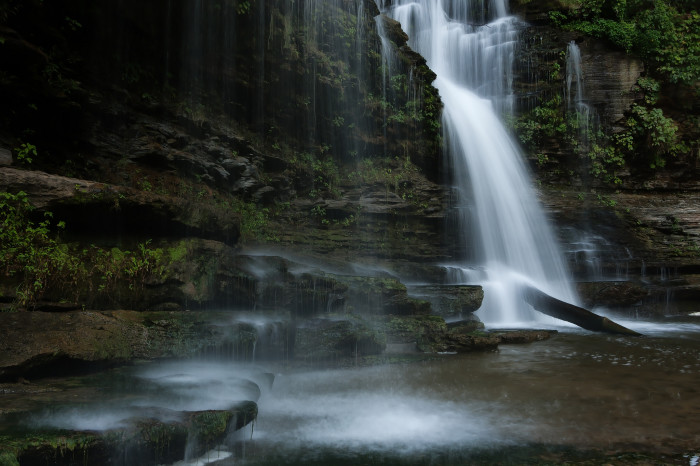 1) Cummins Falls - Cookeville