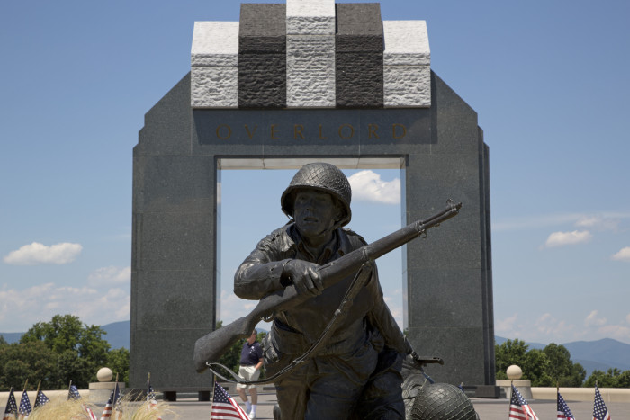 2.  See the D-Day Memorial in Bedford…