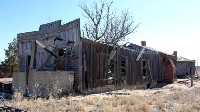 14.) Old Building in Dearfield, Colorado