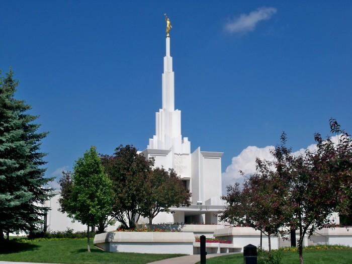 5) Denver Colorado Temple - The Church of Jesus Christ of Latter-Day Saints