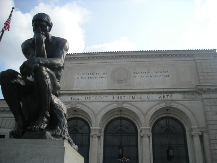 2) Detroit Institute of Arts