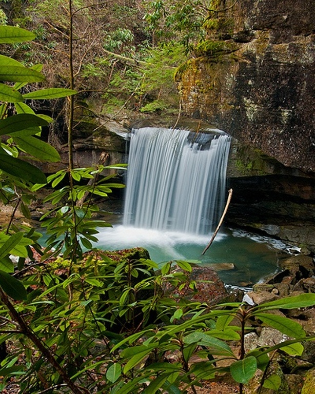 16. Despite its name, Dog Slaughter Falls is a beautifully serene place to relax in Corbin.