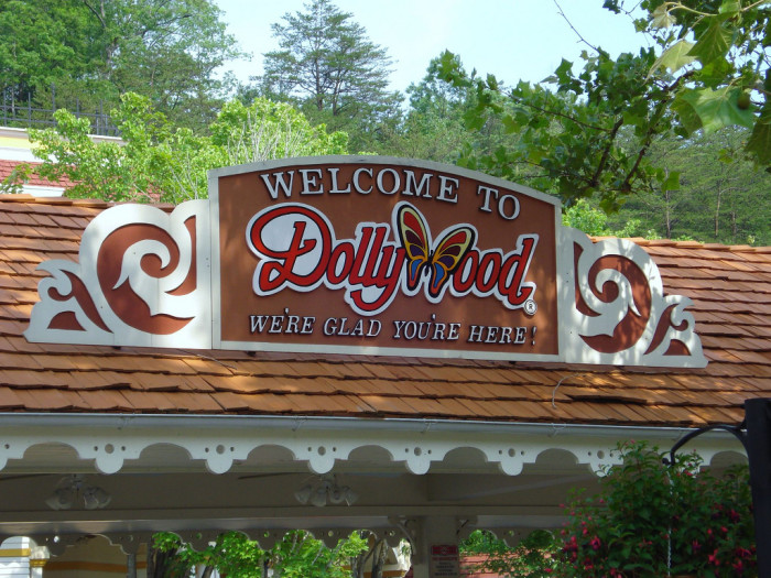 10) A theme park named after Dolly Parton