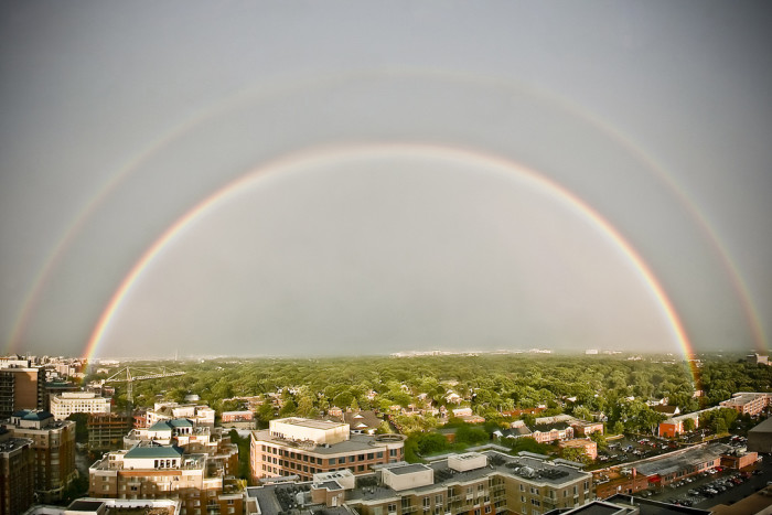 18. Double Rainbow over Ballston
