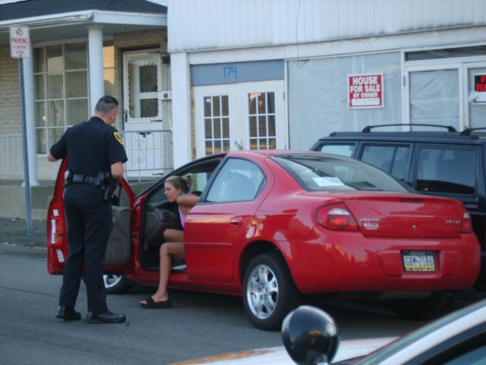 2. Drunk Driver Hands Officer a Beer