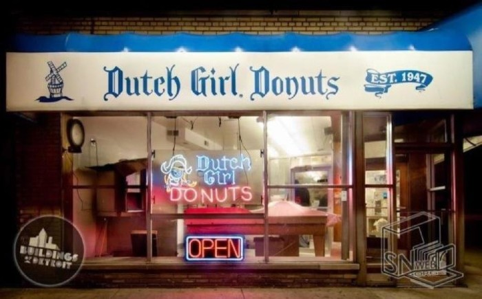 1) Dutch Girl Donuts, Detroit
