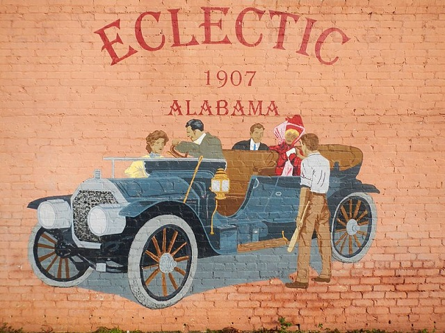 22. Eclectic, Alabama -  Supposedly, when the meteor shower of November 12, 1833 lit up the Alabama sky, the stars actually fell on Eclectic, Alabama.