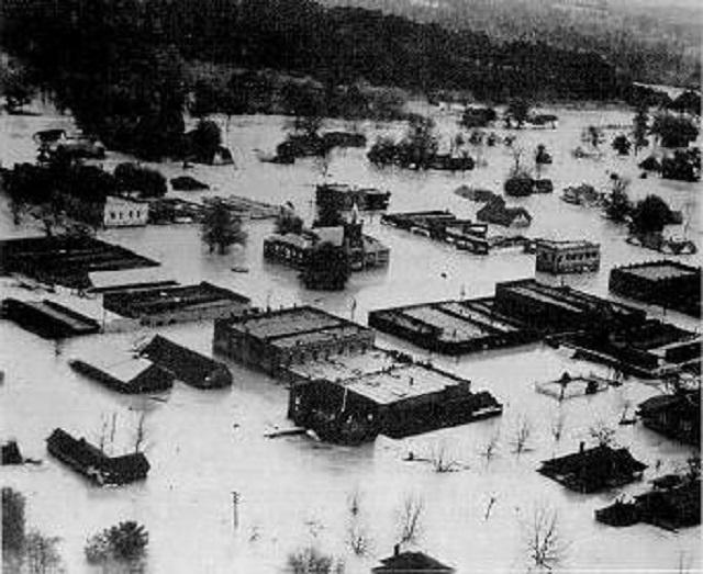 9. The Elba, Alabama flood of 1929