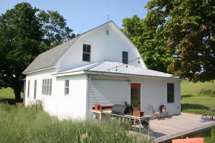 7) Farmhouse in Northport, Leelanau County
