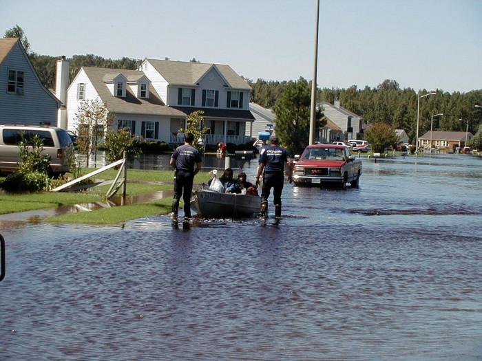 3. Floods happen.