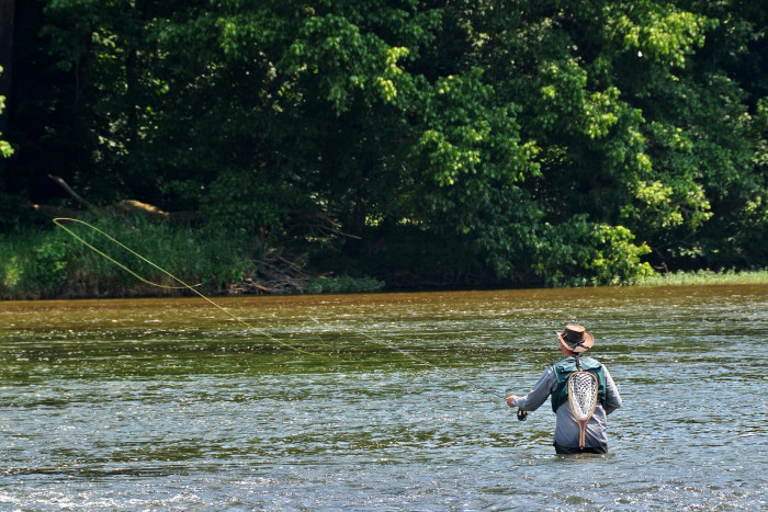 12. Try something a little different with fly fishing