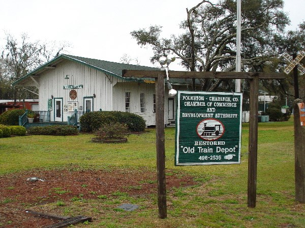 9. Folkston Railroad Depot and Train Museum