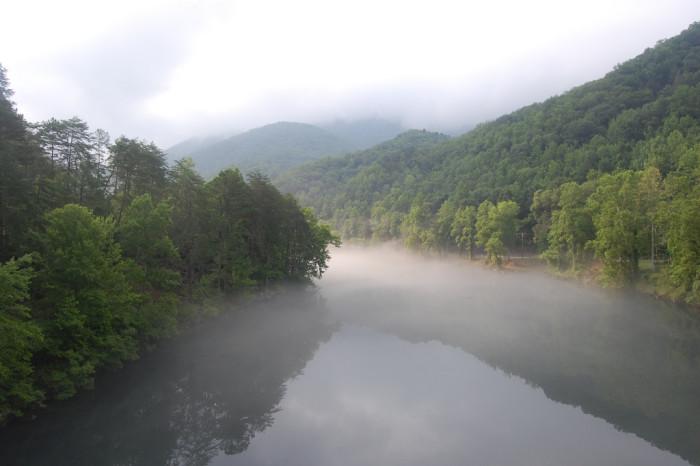 10) Stunning rivers