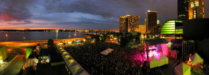 5. Forecastle Fest in Louisville takes place July 17th through 19th along the river.