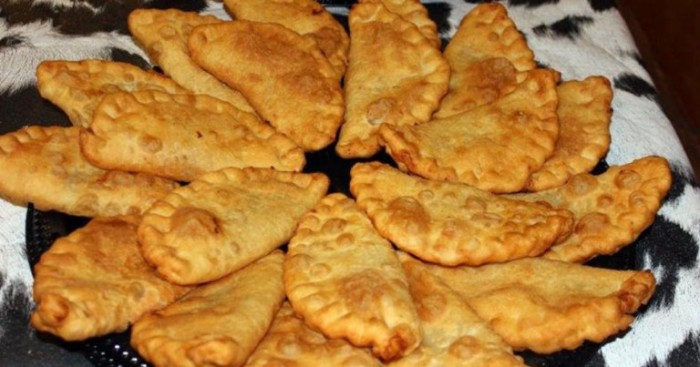 8. My mother has made these since she was a girl herself, and she learned from her elders. These quick skillet pies can be made from biscuits or from scratch. Stuff the dough with a favored fruit, pan fry it in butter and serve plain or ala mode.