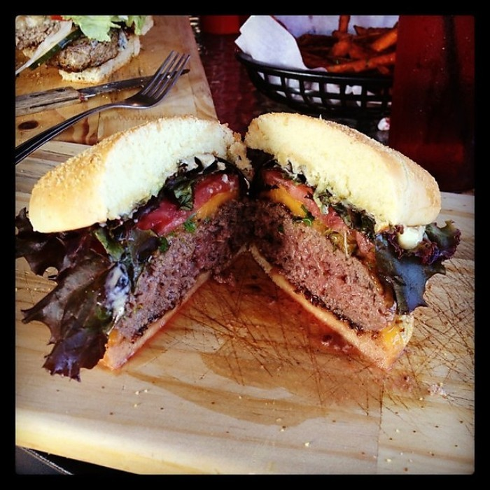 5.The Game restaurant in Louisville features burgers made from antelope, kangaroo, Elk, and more. They specialize in exotic meats.