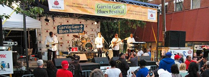 6. Garvin Gate Blues Festival happens every year on the 2nd weekend in October.