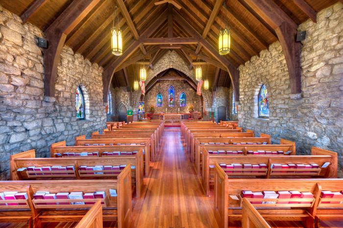 Grace Episcopal Church in Asheville, NC by Steven Hyatt-L